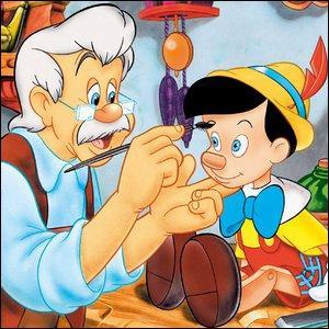 Pinocchio est une marionnette qui parle, rit et pleure comme un enfant. Qui est son père ?