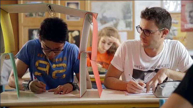 Cette vidéo montre que Cyprien n'aime pas l'école une deuxième fois. Quelle est-elle ?