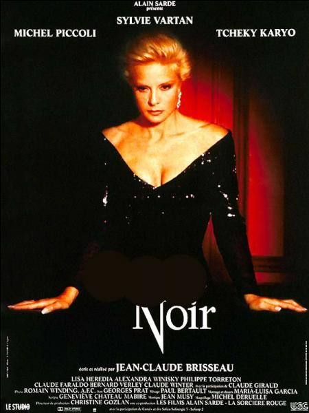 Qu'est-ce qui était noir dans ce film de Claude Brisseau qui réunit Sylvie Vartan et Michel Piccoli ?