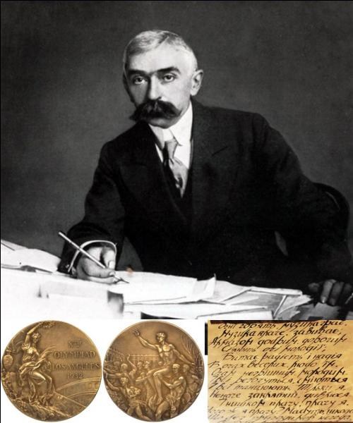 Cette activité n'est pas un sport, mais elle a fait partie des Jeux Olympiques ! Seriez-vous capable de trouver ce « sport » où le créateur des Jeux Olympiques, Pierre de Coubertin, fut déclaré « champion olympique » ?