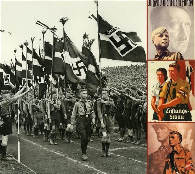 Une fois au pouvoir, Hitler déclara vouloir une jeunesse «aussi dure que l'acier Krupp». En quelle année créa-t-il la Hitlerjugend « Les Jeunesses hitlériennes» ?