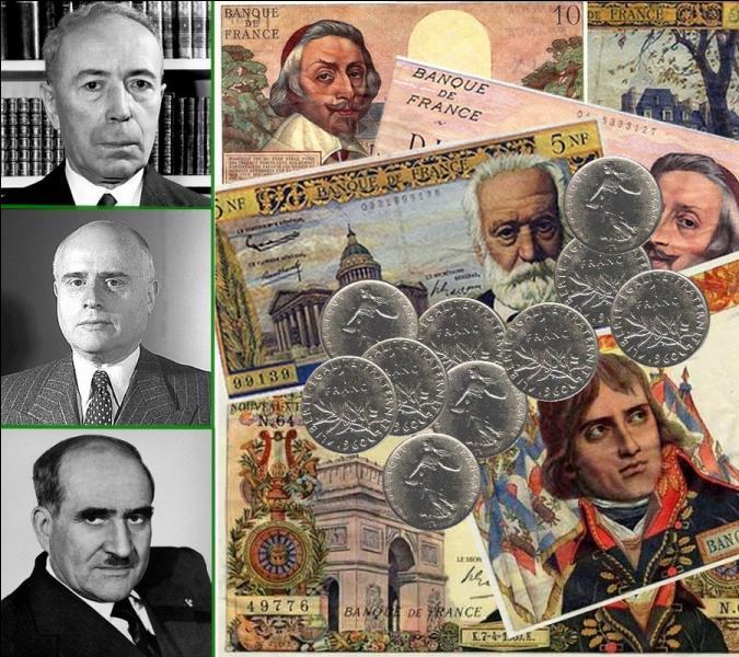 Le 1er janvier 1960, sont mis en circulation les nouvelles pièces et billets du ''nouveau franc'' souhaité par le général de Gaulle. Comment a-t-on appelé le plan élaboré par deux hommes permettant l'instauration du ''nouveau franc'' ?