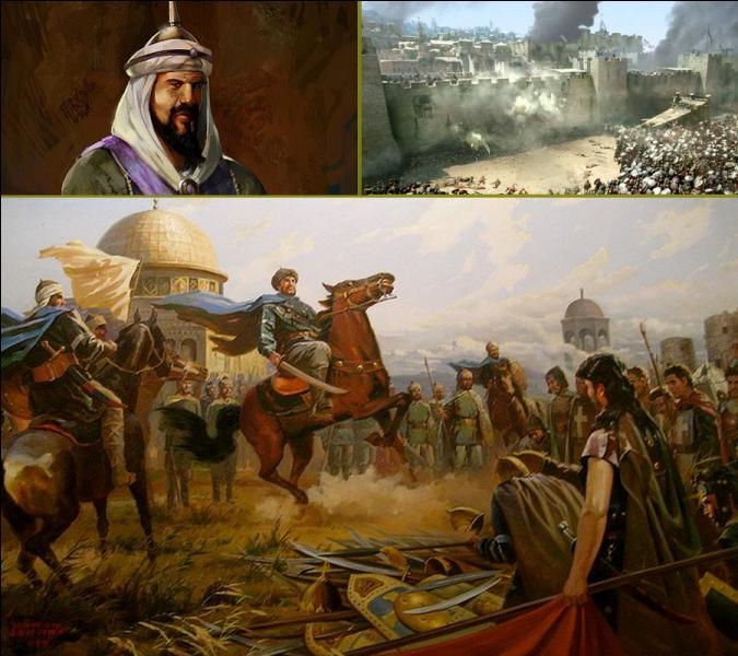 Après sa victoire à la bataille de Hattin, quel grand chef musulman reprit en 1187 la ville de Jérusalem aux croisés?