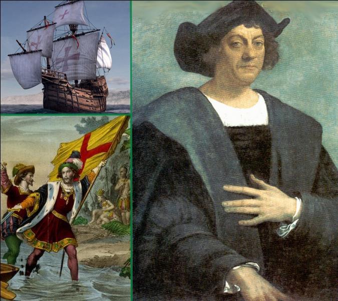 Lors de son second voyage, Christophe Colomb découvrit le 3 novembre 1493 une île à laquelle il donna le nom de son navire amiral. Quel était le nom de ce bateau?