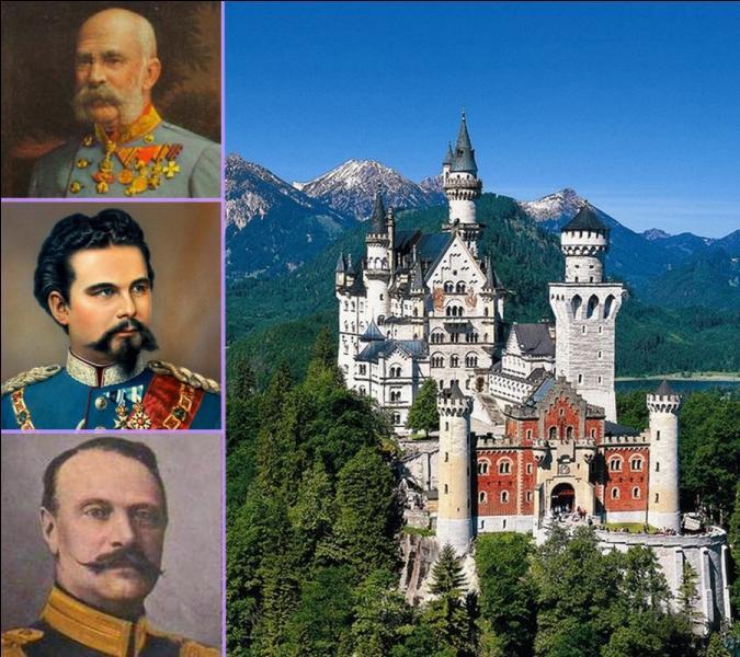 Vers 1880, en Allemagne, qui construisit le château de Neuschwanstein qui inspirera plus tard Walt Disney pour son château de la Belle au bois dormant dans son premier Disneyland en Californie?