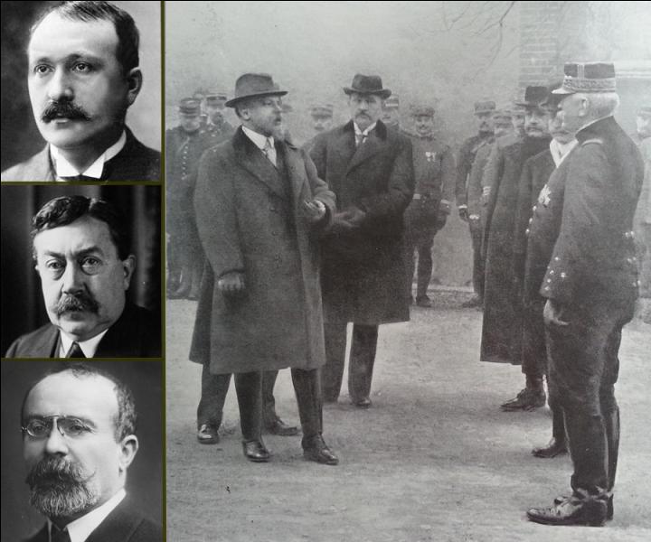Cofondateur du journal ''L'Humanité'' avec Jean Jaurès, quel président du Conseil ordonna la mobilisation le 1er août 1914 puis annonça l'entrée en guerre de la France le lendemain ?
