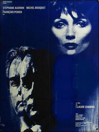 Quel est ce film de Claude Chabrol qui réunit Stephan Audran, Michel Bouquet et François Perrier ?