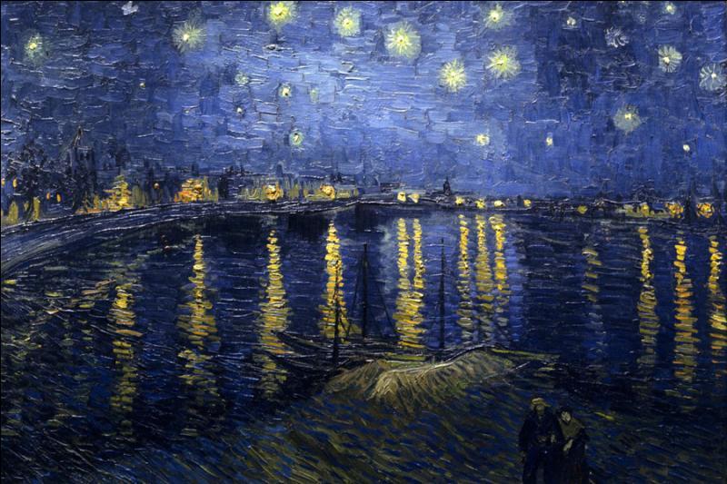 Comment était la nuit sur le Rhône pour van Gogh ?