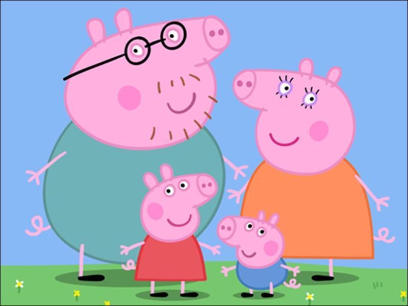 J'aime les cochons roses de ce dessin animé.Comment se nomme-t-il ?