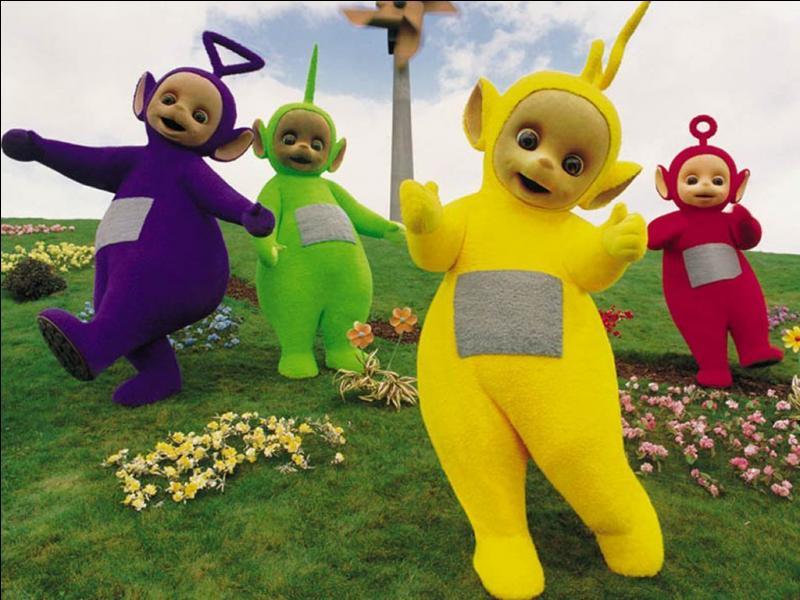 Il sont 4 : Tinky Winky, Laa-Laa, Po et Dipsy.Dans quel dessin animé jouent-ils ?