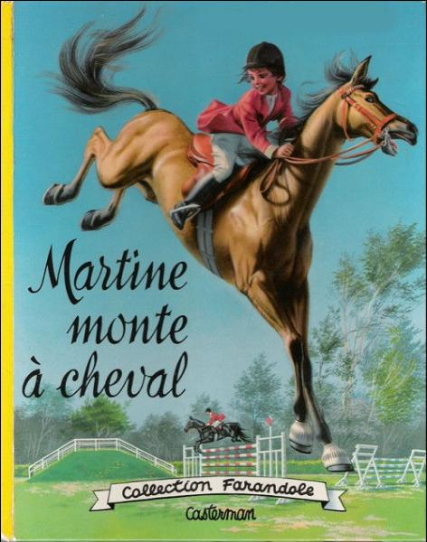 Arrêtez de rêver ! Je ne vous demanderai pas qui monte à cheval ! Mais qui est l'auteur de cette série de livres ?