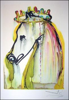 Allez ! Je sais que beaucoup d'entre-vous sont nuls en peinture ! Je ne vous demanderai pas le nom de ce cheval peint par Dali, vous miseriez sur le mauvais cheval ! Je vais vous l'offrir : C'est Caligula !