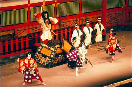"""Le """"kabuki"""" est une variante du karaté, art martial d'origine japonaise."""