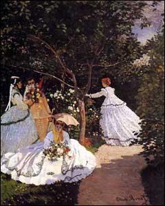 """Claude Monet, Camille Pissaro et Auguste Renoir sont des peintres """"impressionnistes""""."""