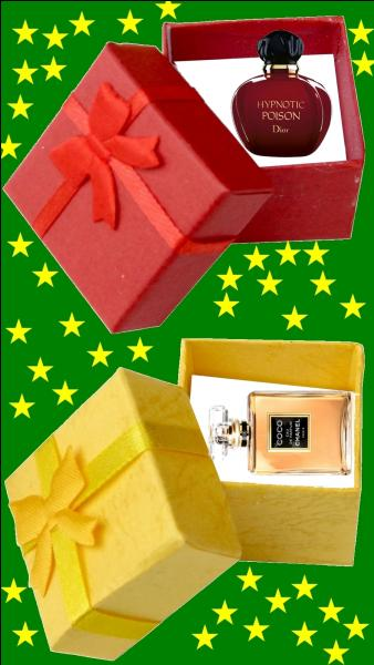 Quelle est la couleur du cadeau pour la petite Vanessa Paradis ?