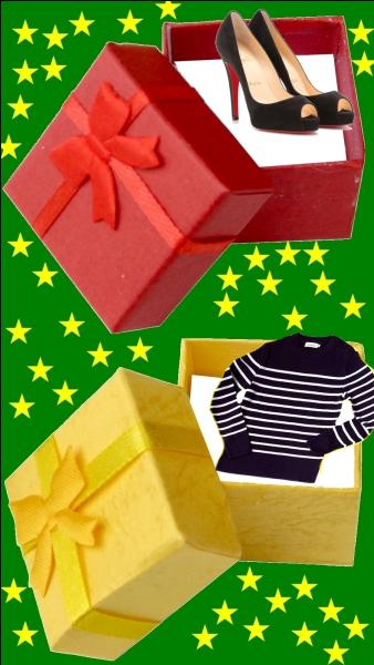 Quelle est la couleur du cadeau pour la petite Isabelle Adjani ?
