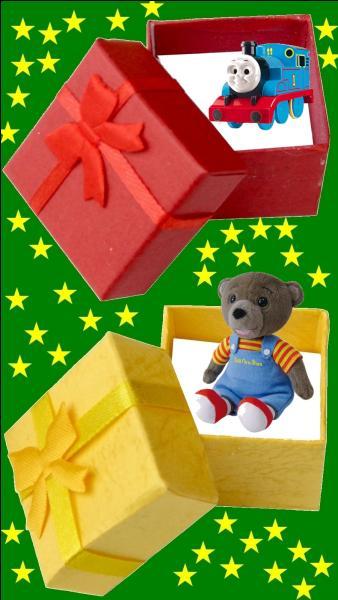 Quelle est la couleur du cadeau pour le petit Jean-Jacques Annaud ?