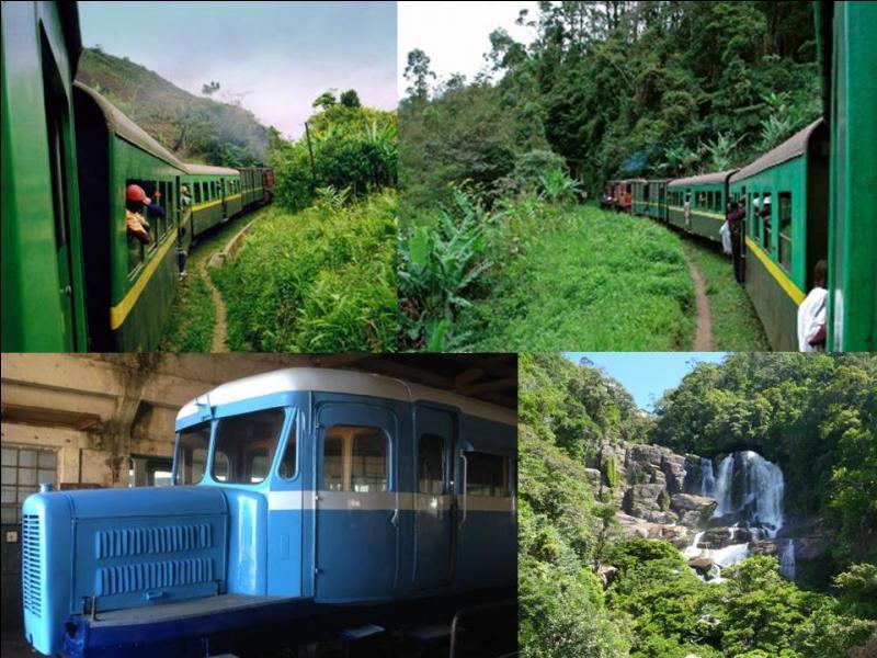 Partons vers une grande île et changeons de monde. Ce train relie la ville de Fianarantsoa sur les hautes terres à la ville de Manakara sur la côte Est. Vous serez totalement (surtout en 2e classe) immergés dans la vie locale de cette ancienne colonie française.Dans quel pays sommes-nous ?