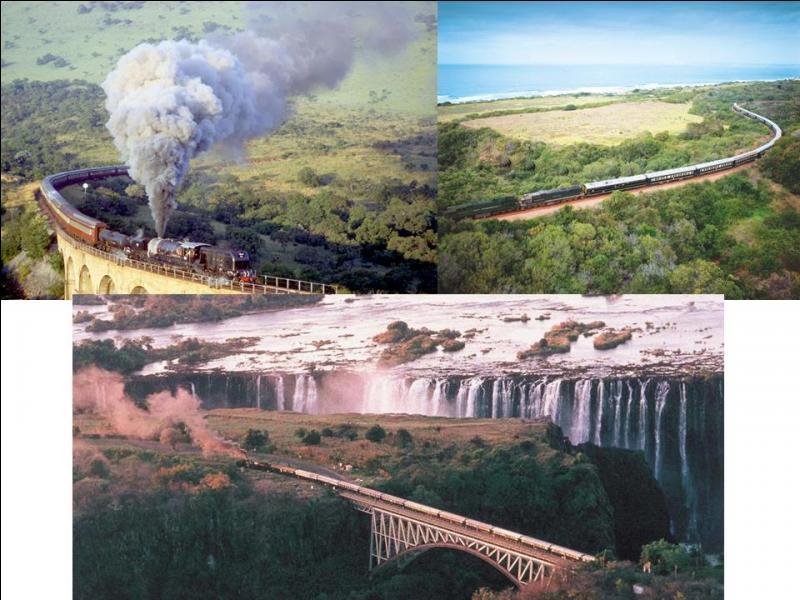 Vous aimez les vieilles locomotives à vapeur ? Ce train de l'hémisphère sud vous permettra de faire un « petit » voyage entre deux villes sud-africaines. Ce train relie deux des capitales de ce pays.Quel est ce train ?