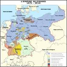 Grâce à qui voit-on l'unification des États allemands en 1870 ?