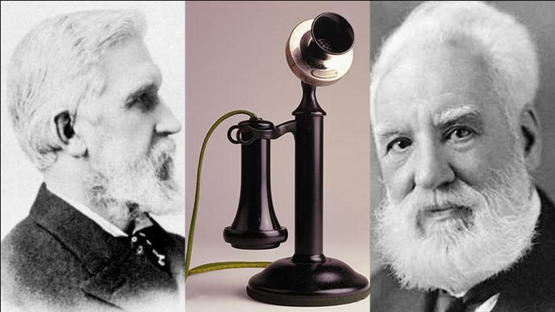 En quelle année a été créé le téléphone par E. Gray et par A.G. Bell ?