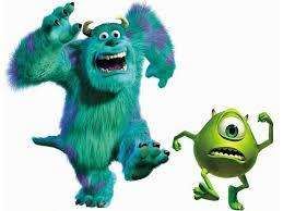 Les personnages de 'Monstres et Cie'