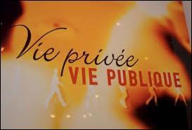 """Qui a présenté l'émission """"Vie privée, vie publique"""" sur France 3 ?"""