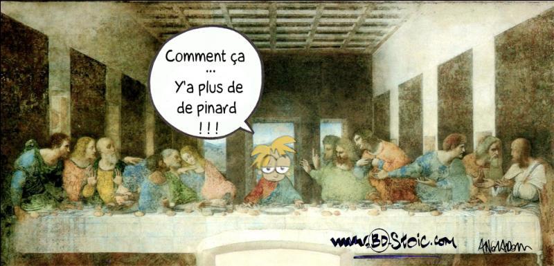 Combien de personnes étaient présentes lors de la Cène, dernier repas du Christ entouré de ses disciples ?