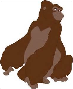 Qui est la mère gorille de Tarzan ?
