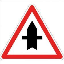 Que signifie le panneau de signalisation présenté sur la photo ?