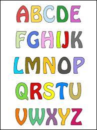 Quelle est la 18e lettre de l'alphabet ?