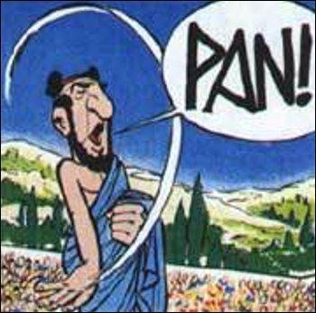 """Dans """"Astérix aux Jeux olympiques"""", il est donné une explication à l'onomatopée désignant le bruit d'une détonation : laquelle ?"""