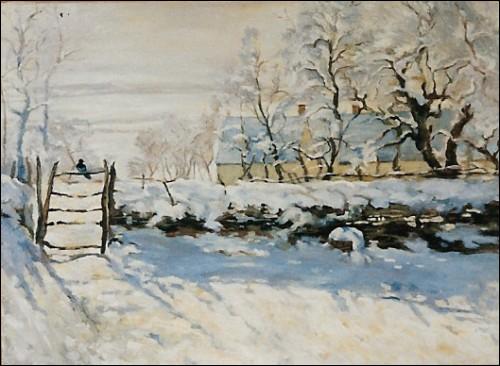 Quel est ce tableau de Claude Monet ?
