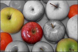 Laquelle de ces pommes est la pomme Gala ?