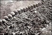 Dans quel pays un génocide a-t-il eu lieu avant 1990 ?
