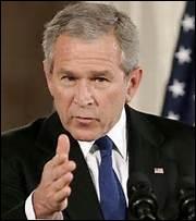 """Quels sont les pays faisant partie de """"l'axe du mal"""" défini par le président George W. Bush en 2005 ?"""