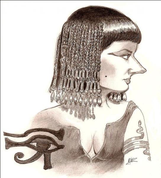 Elle fut amoureuse du précédent. Elle avait un nez qui aurait pu changer la face du monde ! Même Astérix et Obélix lui ont rendu visite.