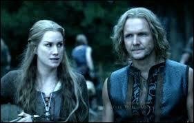 Cette jeune fille est tombée amoureuse de ce Viking. Il est un homme cruel et, elle, une femme douce. Comment se nomment-ils ?