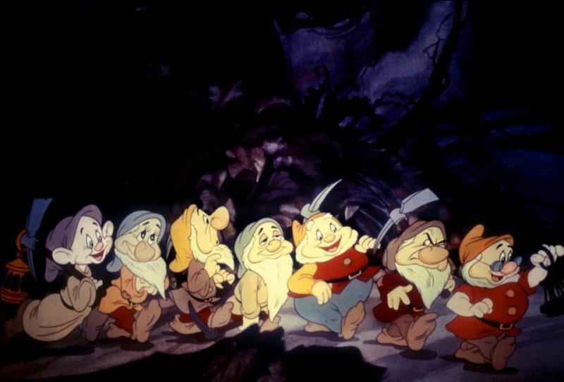 Dans ce Walt Disney nous pouvons retrouver sept nains.Mais dans quel Walt Disney apparaissent-ils ?