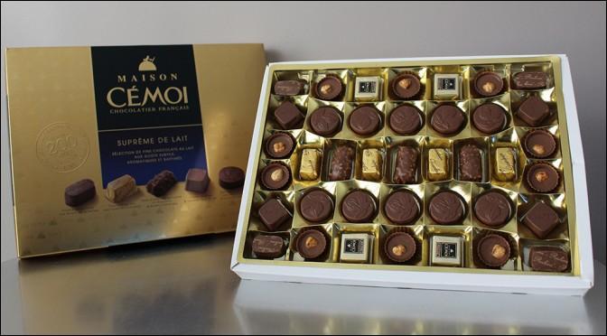 Où l'entreprise des chocolats Cémoi a-t-elle été créée en 1920 ?