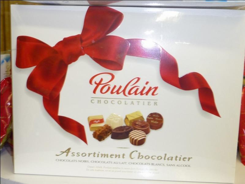Où les chocolats Poulain ont-ils vu le jour en 1848 ?