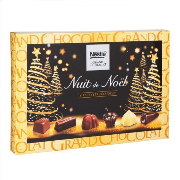 A quel pays appartiennent les chocolats Nestlé ?