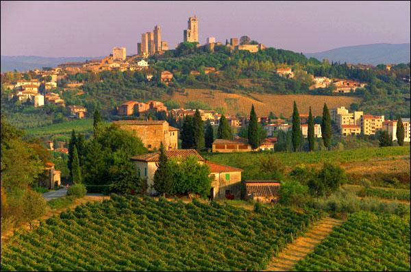 """Gênes est la capitale de la """"Toscane"""", région située au centre-ouest de l'Italie."""