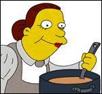C'est la cuisiniere de l'école elementaire, comment s'appelle -t- elle ?