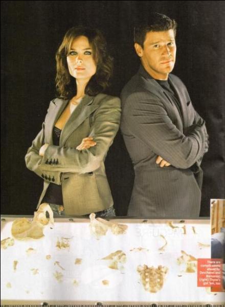 Grâce à quoi Booth et Brennan commencent-ils leur relation ?