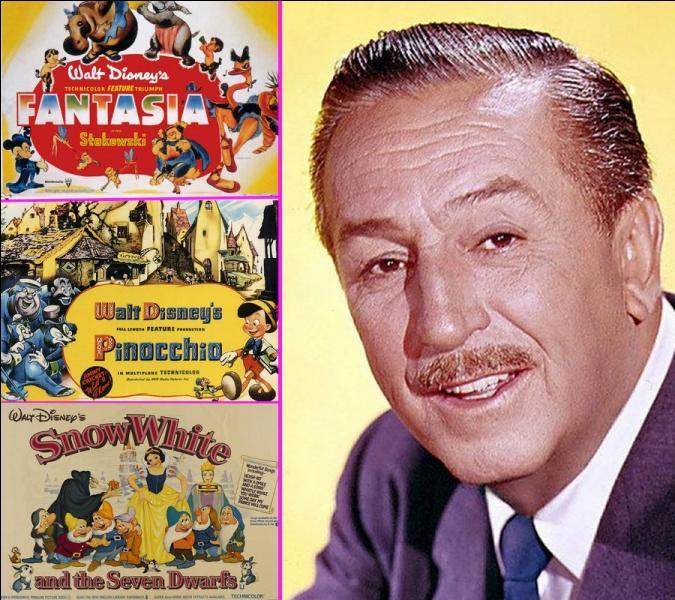 Il y a un peu plus de 50 ans, le 15 décembre 1966, décédait Walt Disney réalisateur et animateur américain de dessins animés. Quel fut son premier long métrage d'animation sorti en décembre 1937?