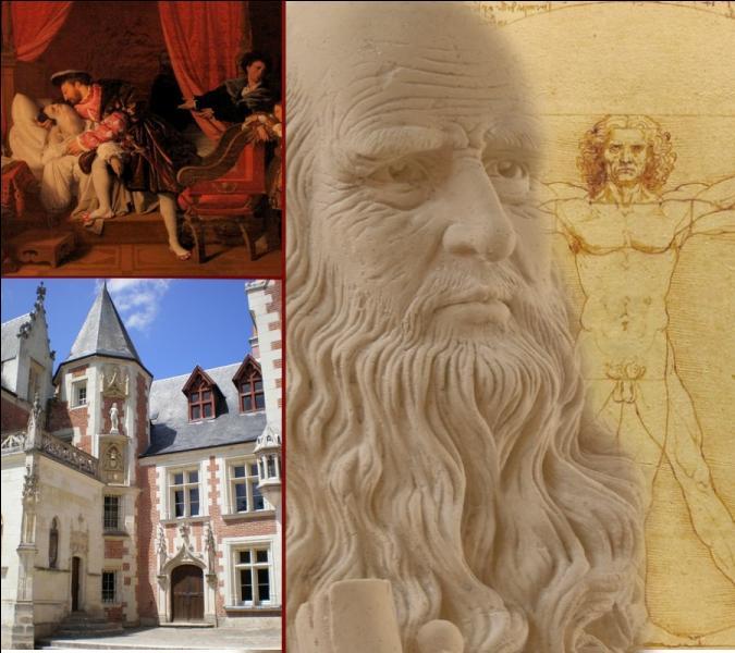 En 1516, il y a un peu plus de 500 ans, François Ier invita Léonard de Vinci à venir à Amboise. Dans quelle demeure l'accueillit-il dans ces termes : « Tu seras libre, ici, de rêver, de penser et de travailler » ?
