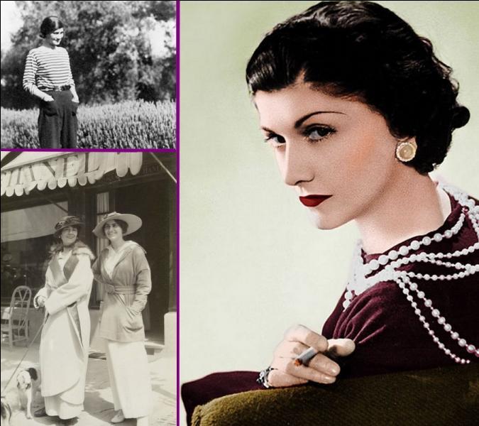 Quelle création de Coco Chanel vit le jour il y a un peu plus d'un siècle en 1916 dans la station balnéaire normande de Deauville?