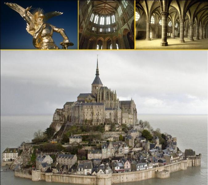 En l'an 966, à la demande du duc de Normandie Richard Ier, quel ordre monastique fonda l'abbaye du Mont-Saint-Michelil y a 1050 ans ?
