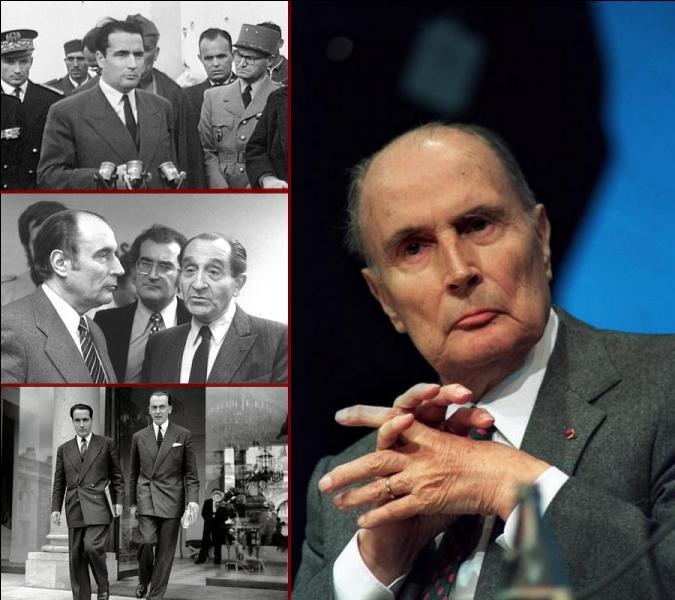 Né il y a un peu plus d'un siècle à Jarnac en Charente, François Mitterrand est mort en 1996. Mais avant de devenir président de la République en 1981, quel poste de ministre du gouvernement Pierre Mendès France occupa-t-il en 1954 ?